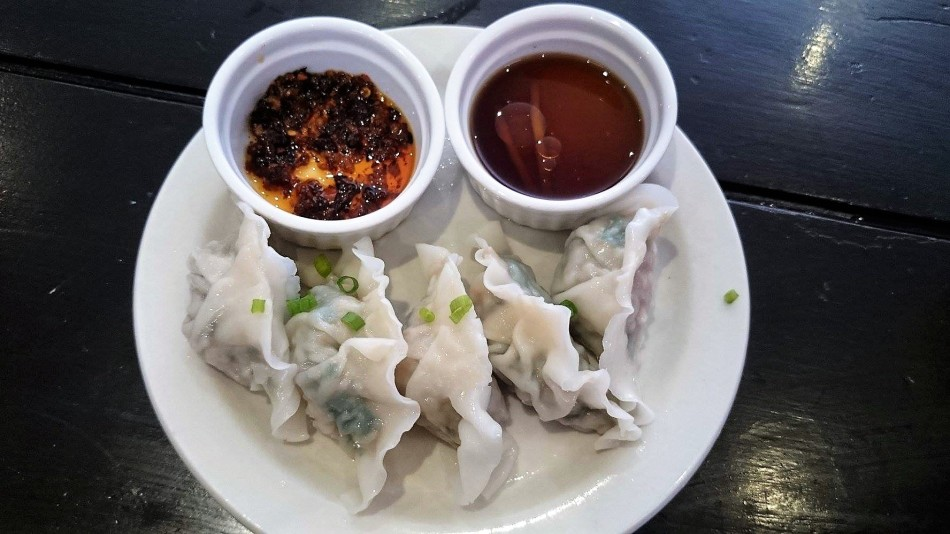 Kuchay Pork Dumplings from Caution Hot Magiting Street