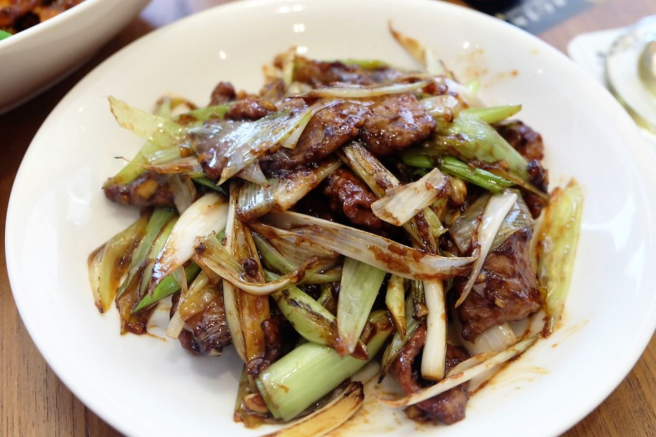 Paradise Dynasty Stir-Fried Beef