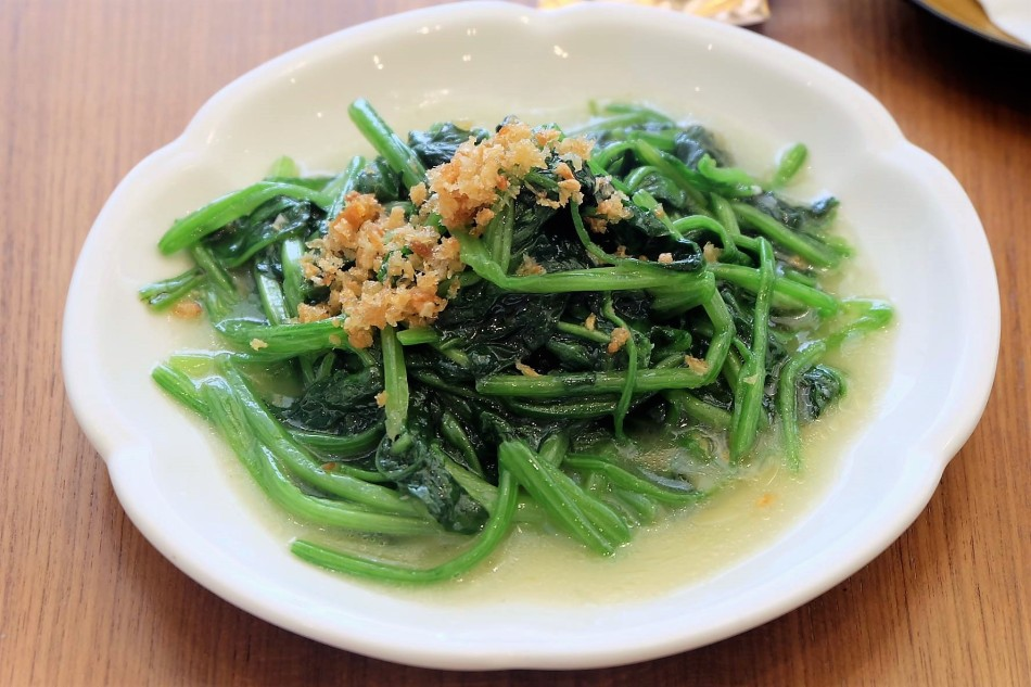 Paradise Dynasty Stir-Fried Spinach