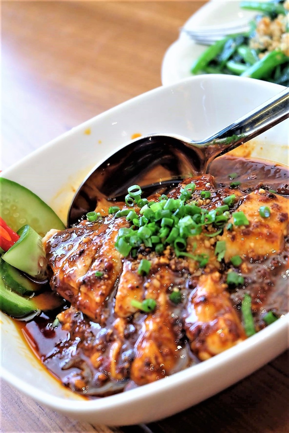 Paradise Dynasty Poached Chicken in Szechuan Sauce