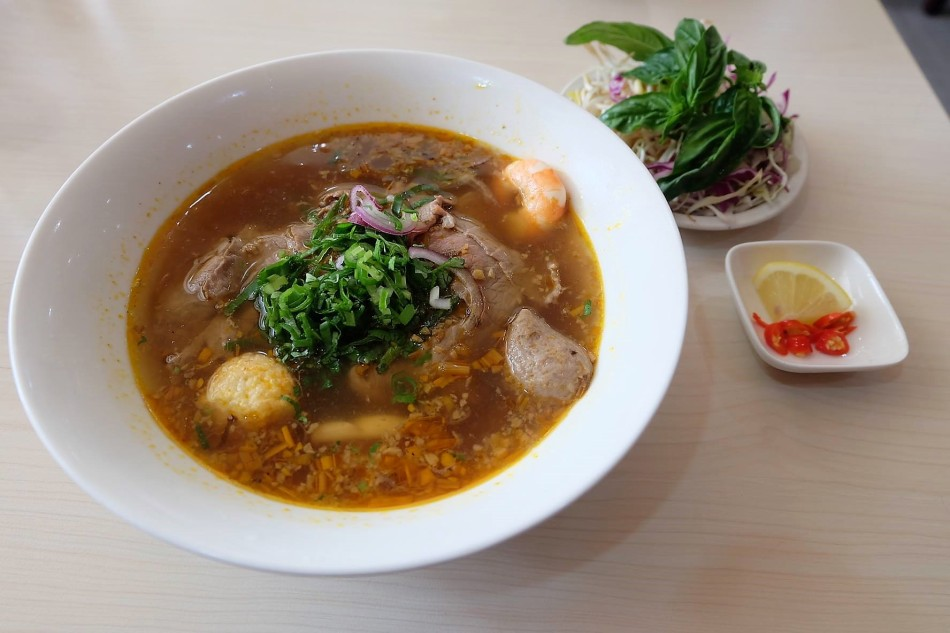 Tra Vinh Spicy Combination Noodle Soup