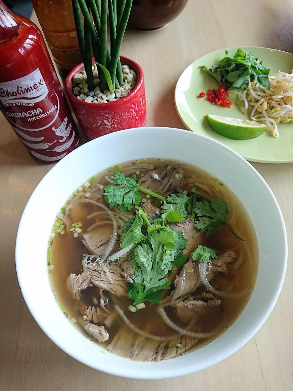 Beef Pho Vietnomnom Maginhawa