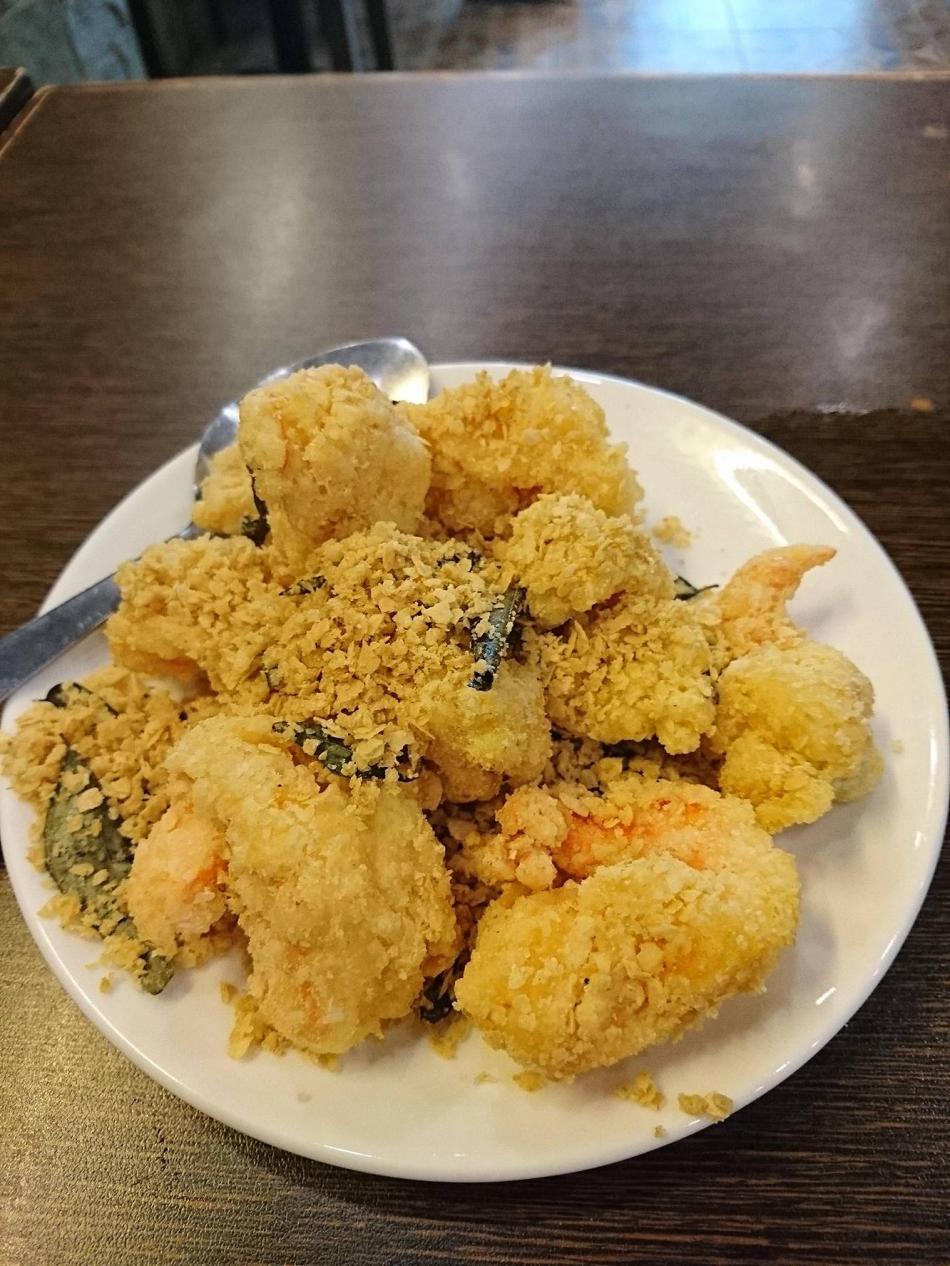 Shiok Shiok Cereal Prawns Banawe