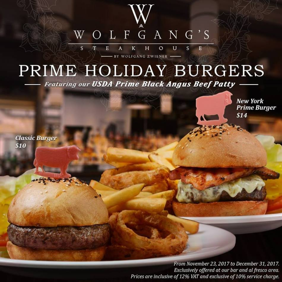 PRIME HOLIDAY BURGERS